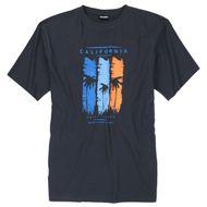 Motiv T-Shirt anthrazit Adamo Fashion XXL 001