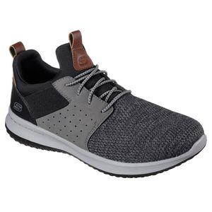 Skechers Sneaker Delson-Camben schwarz/grau Übergröße