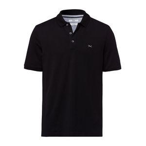 Brax Hi-Flex Poloshirt schwarz große Größen