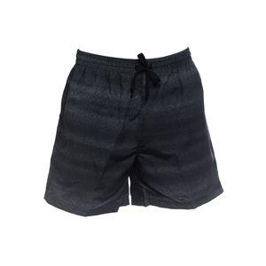 XXL Badeshorts Bellonda schwarz-grau Streifenoptik