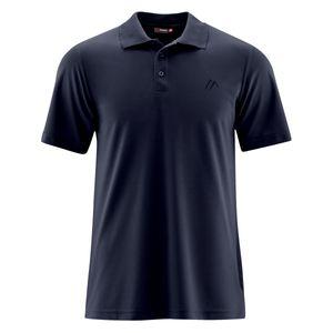 Maier Sports Funktions-Poloshirt navy große Größen