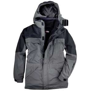 Abraxas 3-in-1 Funktionsjacke Davos anthrazit