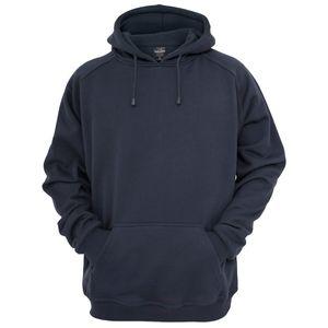 Urban Classics Kapuzen Sweatshirt Blank Hoody in navy