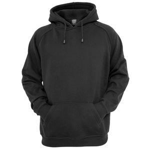 Urban Classics Kapuzen Sweatshirt Blank Hoody in schwarz