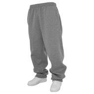 Jogginghose Herren Übergröße grau Urban Classics 001