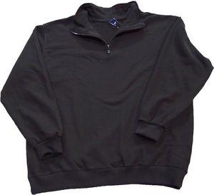 DAVE´S Troyer Sweatshirt schwarz