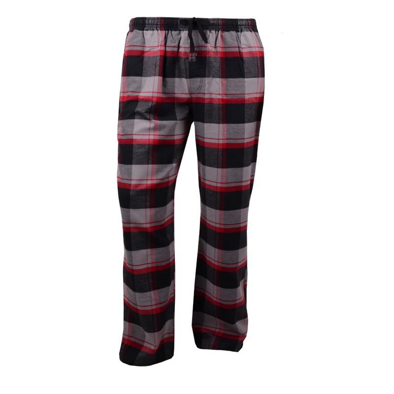 sports shoes 14f51 ad137 Flanell Pyjama lang - schwarz-rot kariert Marke Jockey