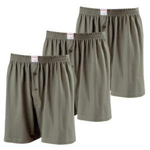 b06c21d3e2 Übergrößen Boxershorts Unterwäsche 3er Pack JAMES olive Adamo