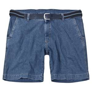 Jeansblaue Stretch-Shorts Pierre von Pionier