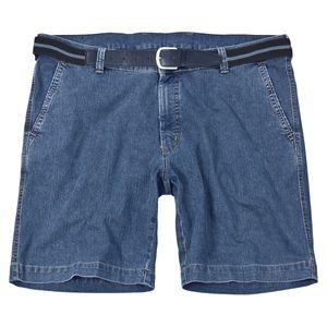 Pionier Jeans Stretch-Short blau Übergröße Herren