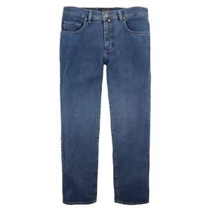XXL Pionier Stretch-Jeans Peter stone washed blue
