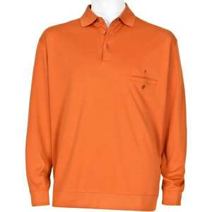 Oranges Polo-Sweatshirt Ragman Pima-Cotton