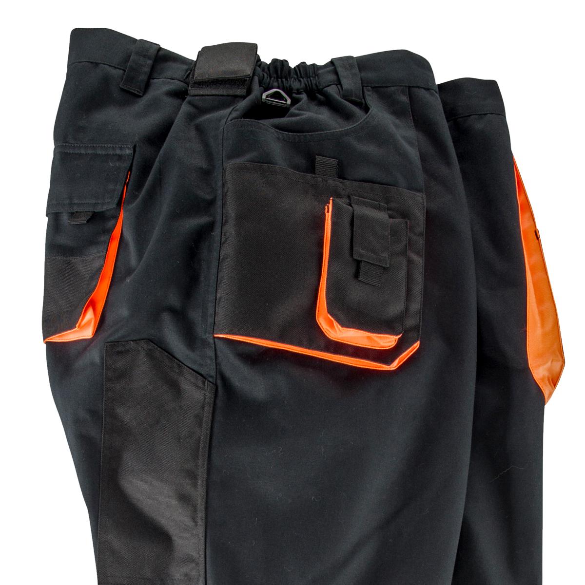 100% hohe Qualität Rabattgutschein populärer Stil Abraxas schwarze Arbeitshose