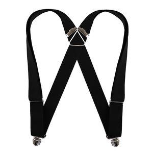 Biclip Hosenträger in schwarz