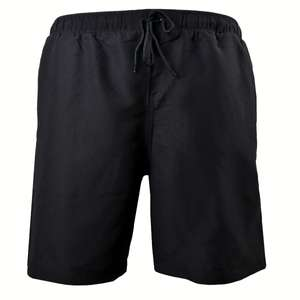 Freizeit- / Badeshorts Herren Übergröße schwarz Daves Swimwear
