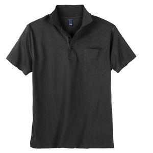 Dave`s Basic Poloshirt Herren schwarz