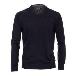 CasaModa Pullover große Größen dunkelblau melange