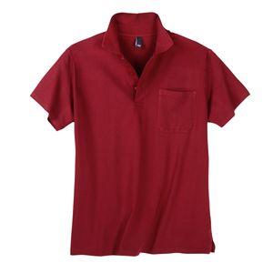 Dave`s Basic Poloshirt Herren rot