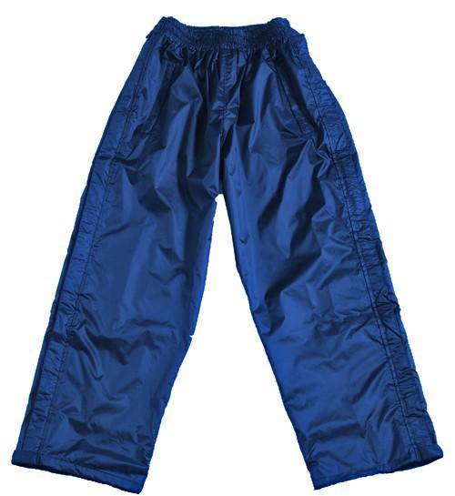 Regenjacke Übergröße blau BMS