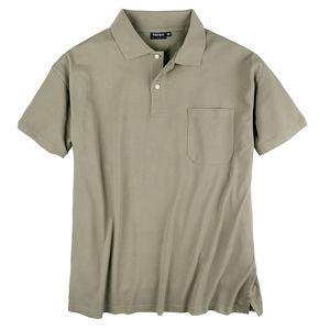Poloshirt Herren Übergröße khaki Redfield
