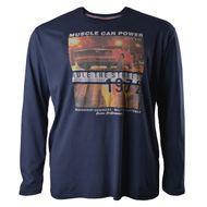 Redfield langarm Shirt dunkelblau Übergröße 001