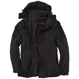 Abraxas Winterjacke schwarz große Größen