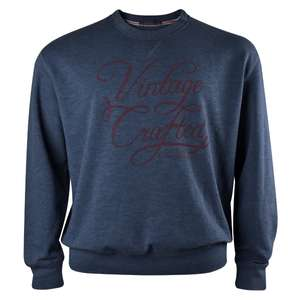 Redfield Sweatshirt Vintage blau in XXL