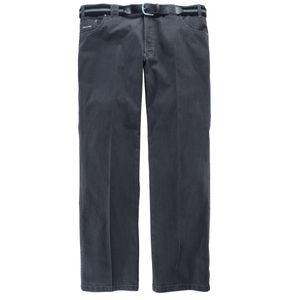 Stretch Jeans Mike anthrazit von Luigi Morini Übergröße