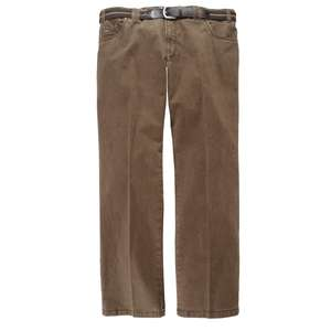 Luigi Morini braune Stretch Jeans Mike