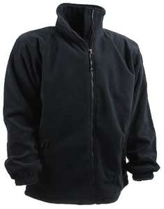 Fifty-Five Fleecejacke schwarz