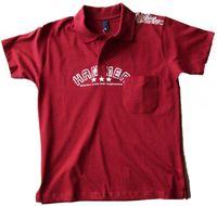 Poloshirt Herren rot DAVE´S Übergrößen  001