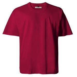 Basic T-Shirt hellrot von Lucky Star Übergröße