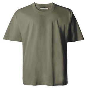 T-Shirt in oliv von Lucky Star Übergröße