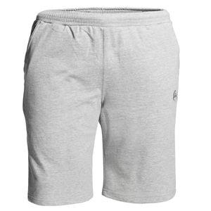 Ahorn Sportswear Joggingbermuda hellgrau melange
