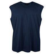 Kitaro Übergröße Muskelshirt Basic navy 001