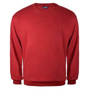 Lucky Star Basic Sweatshirt rot Übergröße