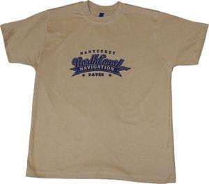 T-Shirt Herren Northcoast beige DAVE´S