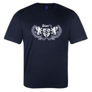 XXL T-Shirt Dave`s in dunkelblau XXL