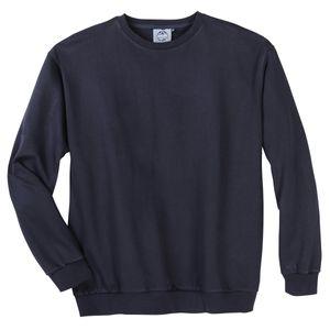 Ahorn Sportswear Basic-Sweatshirt dunkelblau