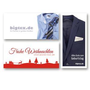 Geschenkgutschein bigtex.de 100,00 Euro