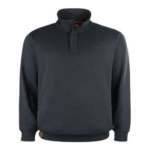 Redfield Troyer-Sweatshirt blaugrau meliert