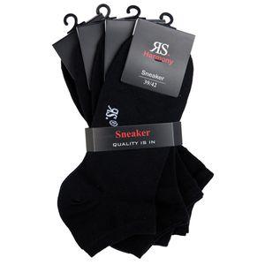 RS Harmony Sneaker-Socken schwarz 4er-Pack