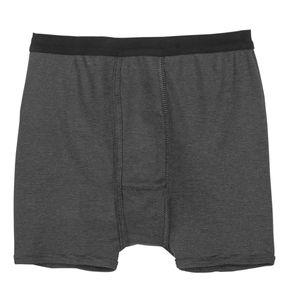 XXL Adamo Thermo Unterhose schwarz-grau gestreift