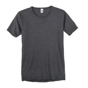 Adamo 1/2 Arm Unterhemd XXL schwarz-grau gestreift