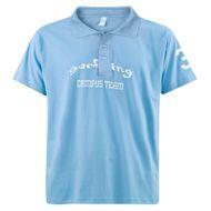 Poloshirt Herren Übergröße blau türkis DAVE´S Surfing  001