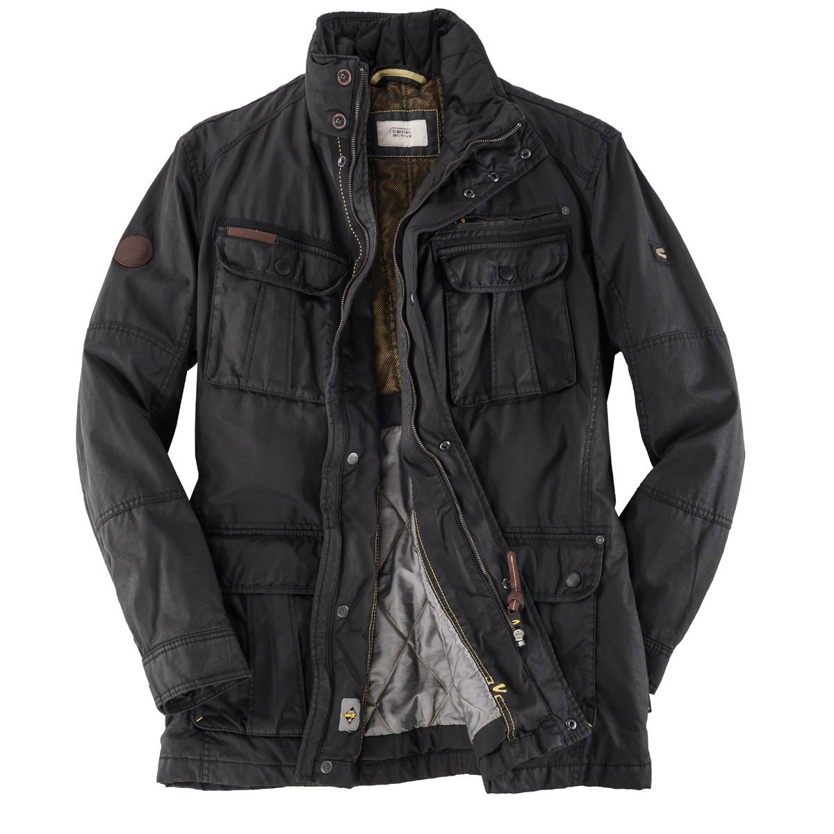 großer Abverkauf große Vielfalt Stile Auf Abstand Schwarze Gore-Tex® Jacke von Camel Active
