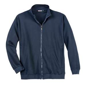Sweatjacke navy von Adamo Fashion