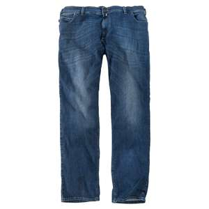 Pionier Jeans Peter denimblau Used Waschung