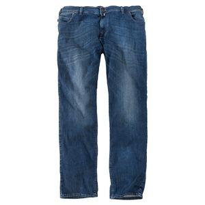 Pionier Jeans Peter denimblau Used Waschung Übergröße