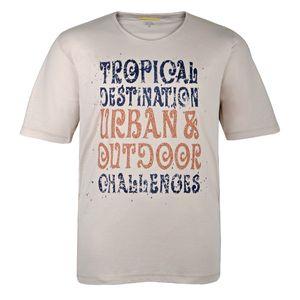 Camel Active T-Shirt creme mit Print